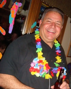 My Dad at his Jimmy Buffett-themed surprise Party