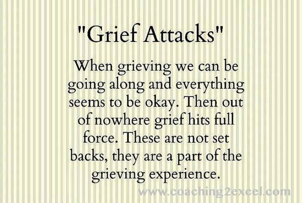 """""""Grief Attacks"""" After A Tragic Loss"""